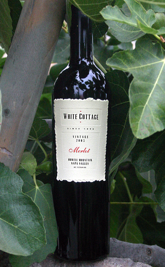 White Cottage Ranch Winery (CLOSED) 2005 Howell Mountain Merlot 750ml Wine Bottle