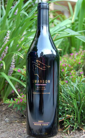 Swanson Vineyards 2005 Salon Petite Sirah 750ml Wine Bottle