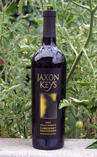 Jaxon Keys Winery 2007 Reserve Cabernet Sauvignon 750ml Wine Bottle