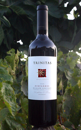 Trinitas Cellars 2004 Bigalow Ancient Vines Zinfandel 750ml Wine Bottle