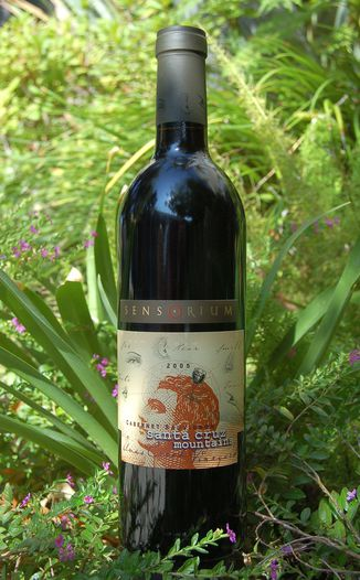 Sensorium Wines 2005 Santa Cruz Mountains Cabernet Sauvignon 750ml Wine Bottle