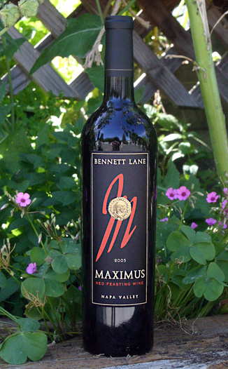 Bennett Lane Winery 2005 Maximus Red Feasting Wine 750ml Wine Bottle