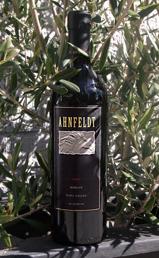 Ahnfeldt Wines 2005 Napa Valley Merlot 750ml Wine Bottle