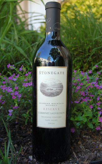 Stonegate Winery 2004 Reserve Cabernet Sauvignon 750ml Wine Bottle