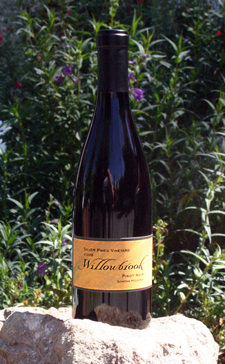 Willowbrook Cellars 2008 Sonoma Mountain Pinot Noir 750ml Wine Bottle