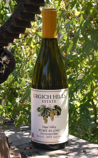 Grgich Hills Estate 2007 Napa Valley Fumé Blanc 750ml Wine Bottle