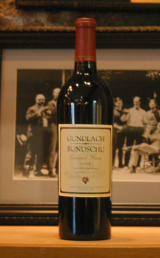Gundlach-Bundschu Winery 2006 Sonoma Valley Cabernet Franc 750ml Wine Bottle