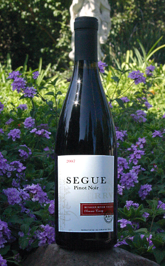 Segue Cellars 2007 Russian River Valley Pinot Noir 750ml Wine Bottle