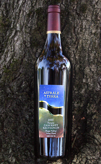 Astrale e Terra (closed) 2003 Estate Cabernet Sauvignon 750ml Wine Bottle