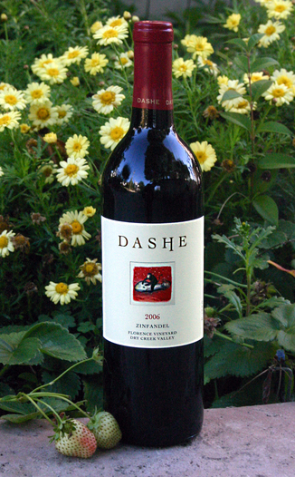 Dashe Cellars 2006 Florence Vineyard Zinfandel 750ml Wine Bottle