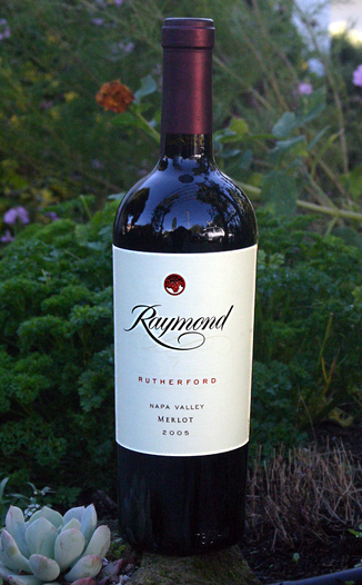Raymond Vineyard & Cellar 2005 Rutherford Merlot 750ml Wine Bottle