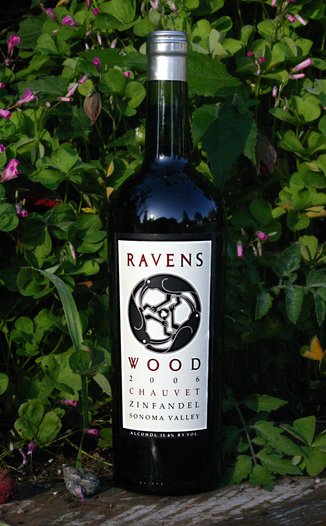Ravenswood Winery 2006 Chauvet Zinfandel 750ml Wine Bottle