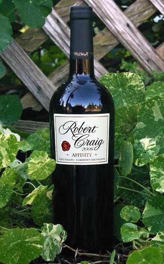 Robert Craig Winery 2006 Affinity Napa Valley Cabernet 750ml Wine Bottle