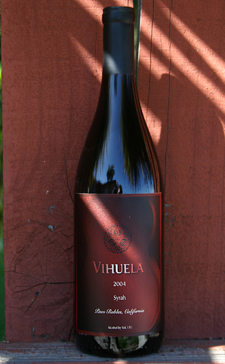 Vihuela Winery 2004 Syrah 750ml Wine Bottle