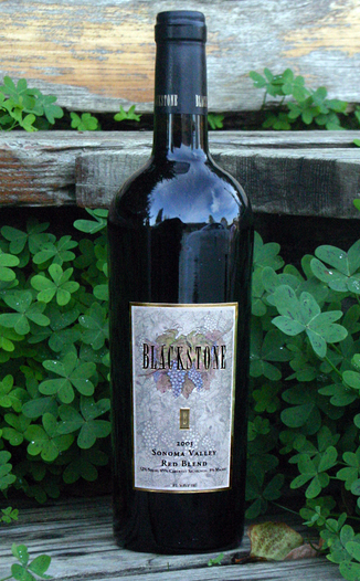 Blackstone Winery 2003 Sonoma Valley Red Blend 750ml Wine Bottle