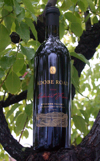 Adobe Road 2006 Knights Valley Cabernet Franc 750ml Wine Bottle