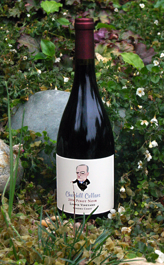Churchill Cellars 2006 Leepin Vineyard Sonoma Coast Pinot Noir 750ml Wine Bottle