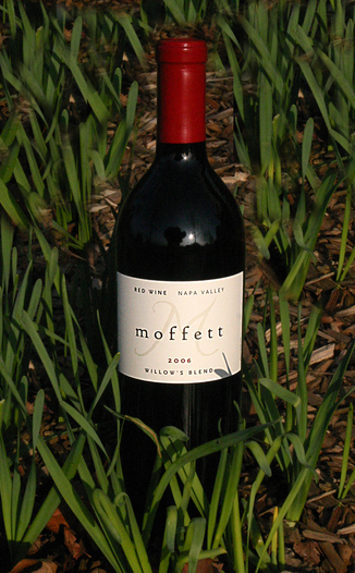 Moffett Vineyards 2006 Willow's Blend Red Wine 750ml Wine Bottle