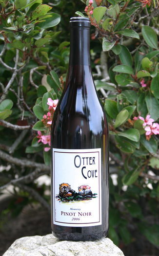 Otter Cove Winery 2006 Pinot Noir 750ml Wine Bottle