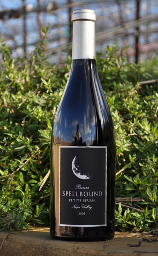 Spellbound Wines 2005 Reserve Petite Sirah 750ml Wine Bottle