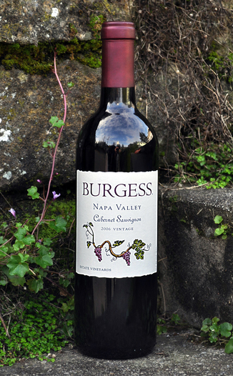 Burgess Cellars 2006 Estate Vineyards Cabernet Sauvignon 750ml Wine Bottle