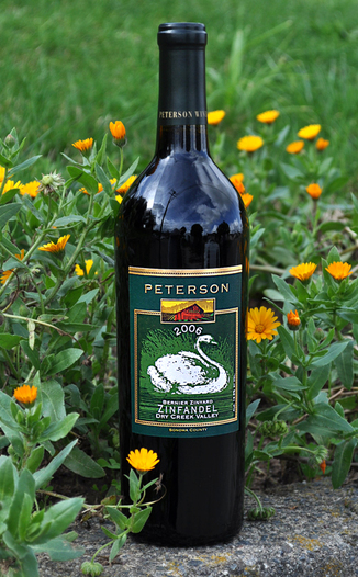 "Peterson Winery 2006 Bernier ""Zinyard"" Zinfandel 750ml Wine Bottle"