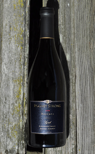 Rodney Strong Vineyards 2006 Alexander Valley Estate Reserve Syrah  750ml Wine Bottle