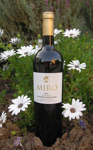 Miro Cellars 2007 Hillside Select Cabernet Sauvignon 750ml Wine Bottle