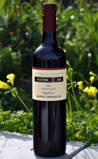 Curious Vine 2006 Rustom Jee Pughouse Shiraz Grenache 750ml Wine Bottle