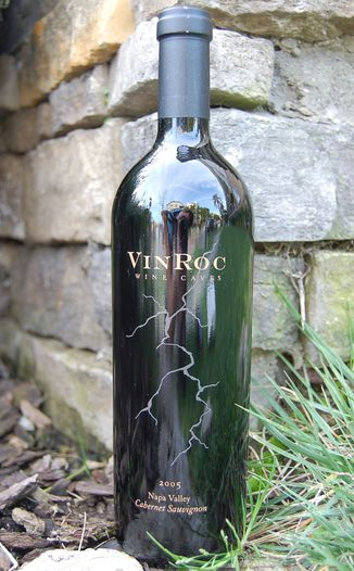 VinRoc Wine Caves 2005 Cabernet Sauvignon 750ml Wine Bottle
