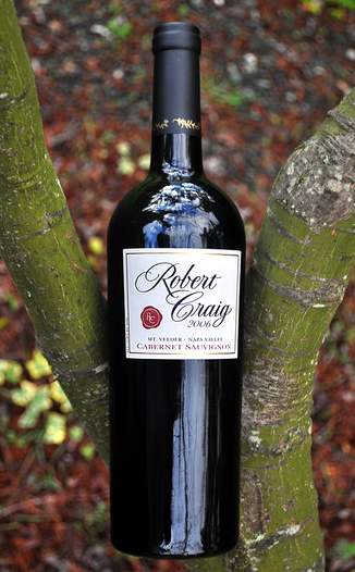 Robert Craig Winery 2006 Mt. Veeder Napa Valley Cabernet 750ml Wine Bottle