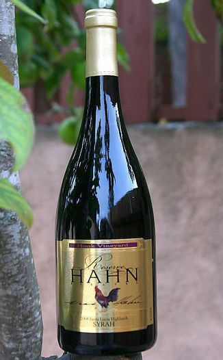 Hahn Family 2004 Reserve Syrah 750ml Wine Bottle
