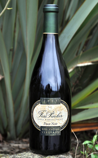 Fess Parker Winery 2007 Bien Nacido Vineyard Pinot Noir 750ml Wine Bottle
