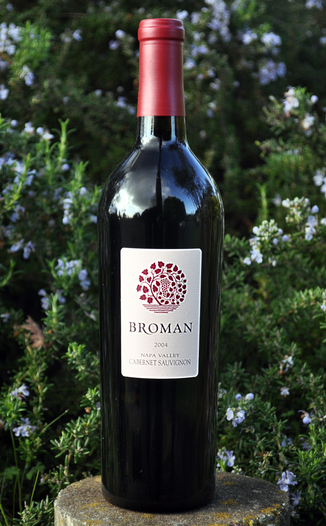 Broman Cellars 2004 Napa Valley Cabernet Sauvignon 750ml Wine Bottle