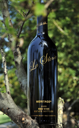 Trentadue Winery 2005 La Storia Meritage 750ml Wine Bottle