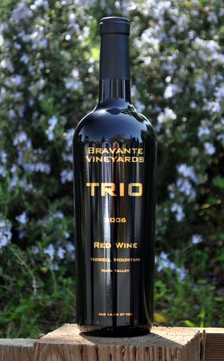 Bravante Vineyards 2006 Howell Mountain Trio 750ml Wine Bottle