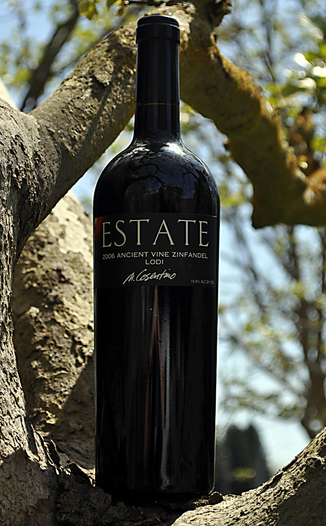 Cosentino Winery 2006 The Estate 'Ancient Vine' Zinfandel 750ml Wine Bottle