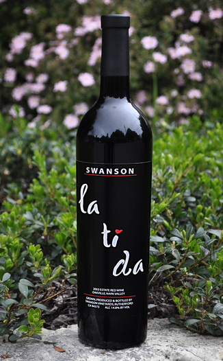 Swanson Vineyards 2003 Salon La Ti Da Estate Red Wine 750ml Wine Bottle