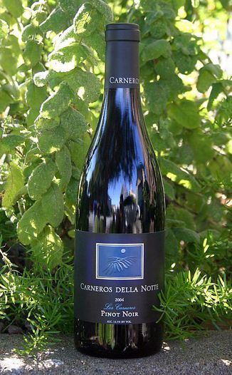 Carneros della Notte 2004 Los Carneros Pinot Noir 750ml Wine Bottle