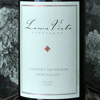 Loma Vista Vineyards 2005 Napa Valley Cabernet Sauvignon 750ml Wine Label