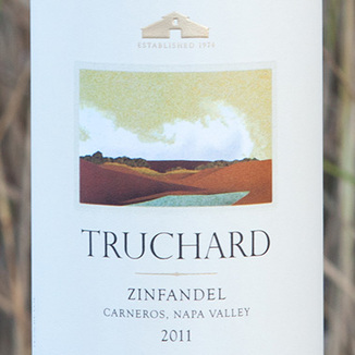Truchard Vineyards 2011 Carneros Zinfandel 750ml Wine Label