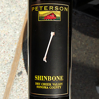 Peterson Winery 2010 Dry Creek Valley Shinbone Red Blend 750ml Wine Label
