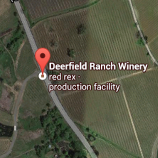 Deerfield Ranch 2008 Red Rex 750ml Wine Label