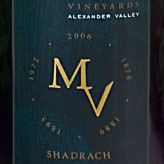 Munselle Vineyards 2010 Shadrach Chardonnay 750ml Wine Label