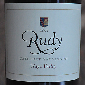 von Strasser Winery 2011 Rudy Napa Valley Cabernet Sauvignon 750ml Wine Label