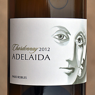 Adelaida Cellars 2012 Paso Robles Chardonnay 750ml Wine Label