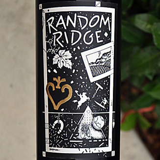 Random Ridge 2009 Mount Veeder Cabernet Sauvignon 750ml Wine Label