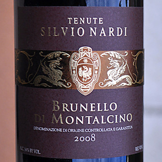 Tenute Silvio Nardi 2008 Nardi Brunello di Montalcino 750ml Wine Label