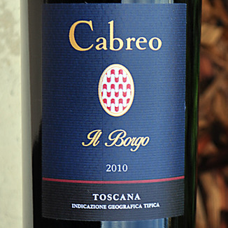 Tenute Del Cabreo 2010 Il Borgo 750ml Wine Label