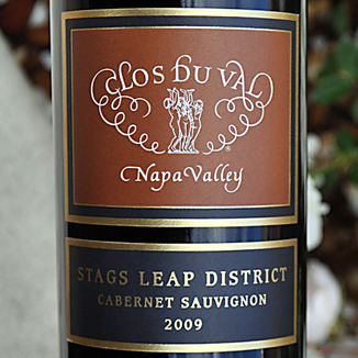 Clos Du Val 2009 Stags Leap Cabernet Sauvignon 750ml Wine Label